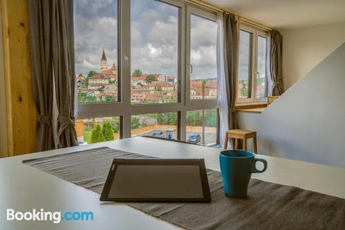 Apartamento de dos habitaciones en Novo Mesto perfecto para grupos