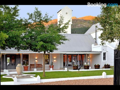 Swimming pool with air apartment. Franschhoek is yours!