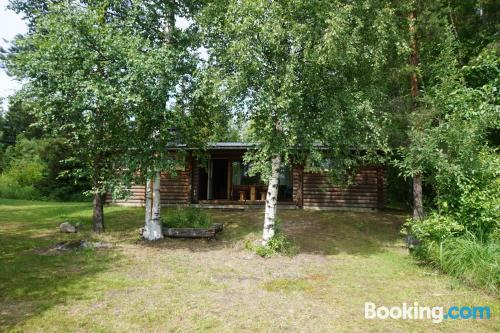 Home in Savonranta with pool and terrace