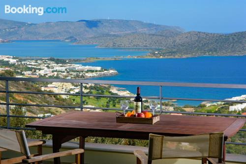 Home in Elounda with terrace