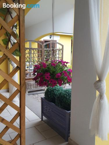 Home in Oristano with terrace and internet.