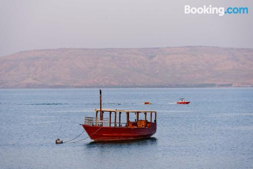 Home in Tiberias with heating and internet
