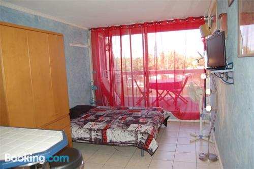 Acogedor apartamento dos personas en Cap d'Agde