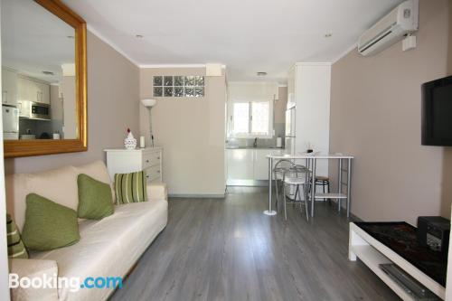 One bedroom apartment in Castelldefels with heat