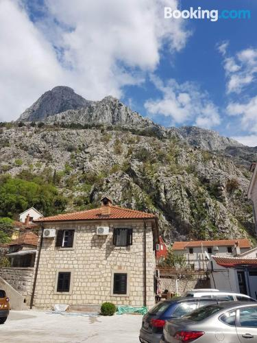 Kotor calling! with terrace.