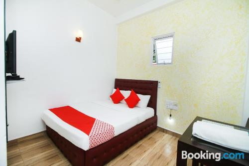 1 bedroom apartment home in Negombo with terrace and pool.