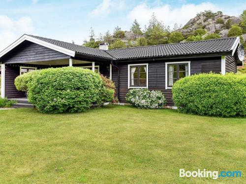 77m2 place in Bovallstrand. Convenient for families