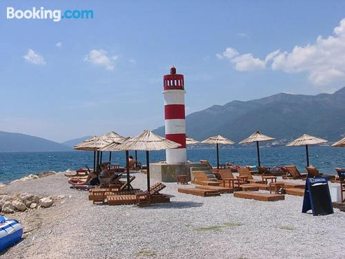 55m2 apartment in Tivat. Enjoy your terrace