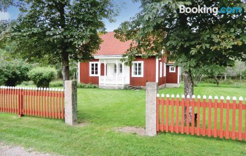 2 bedroom home. Barnebo at your hands!