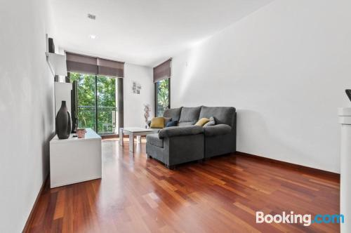 Spacious apartment in Barcelona good choice for families.