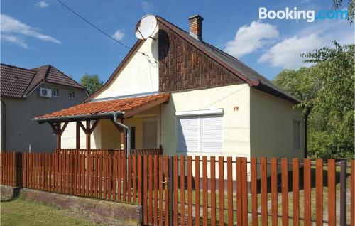 Home in Balatonmáriafürdő with 2 bedrooms