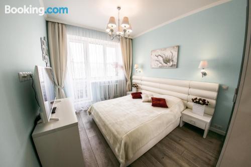 Gran apartamento en Baranavichy con vistas