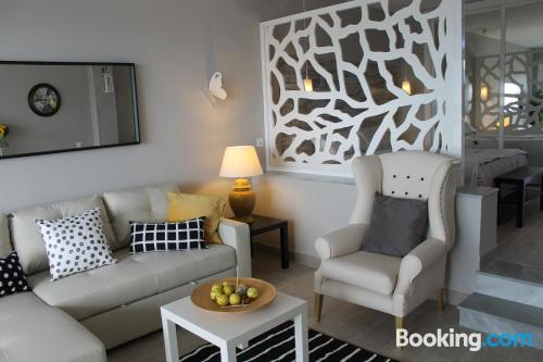 Stay cool: air place in La Cala de Mijas with terrace