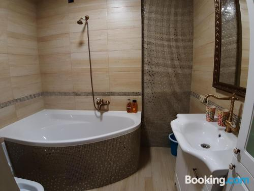 Two bedrooms place in Gomel.