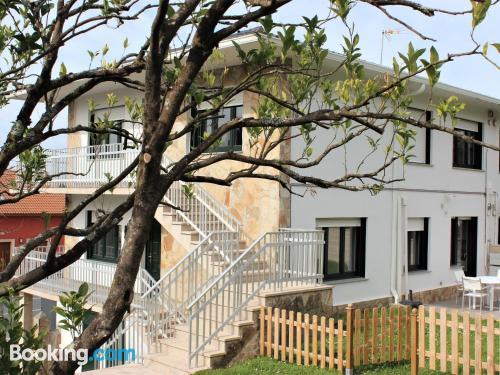 Three room apartment in Porto do Son. Family friendly