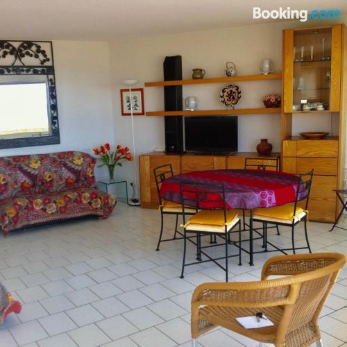 Amplio apartamento de dos habitaciones en Canet-en-Roussillon