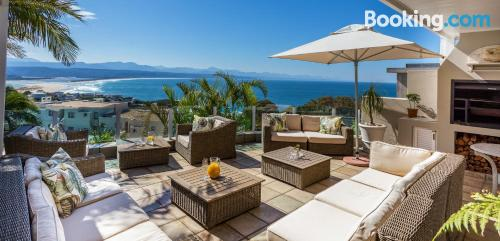 Apartment in Plettenberg Bay with swimming pool and terrace