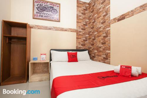 Home for couples in Malang with internet.