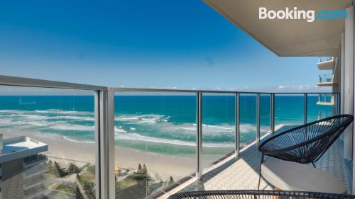 Place in Gold Coast with terrace and wifi