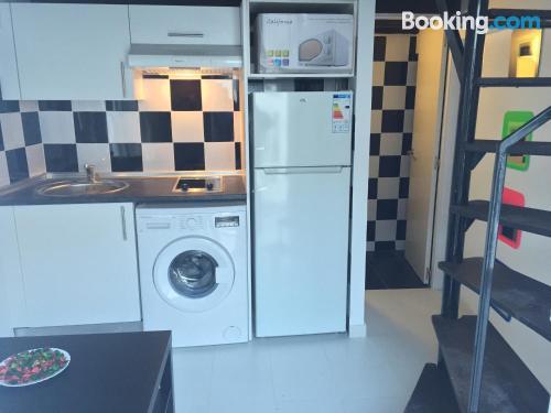 Práctico apartamento parejas en Madrid