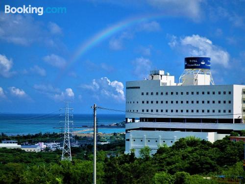 Enjoy in Okinawa City. Be cool, there\s air-con!