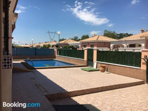 Apartment in Los Montesinos with air