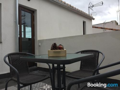 Apartment with terrace. Good choice!