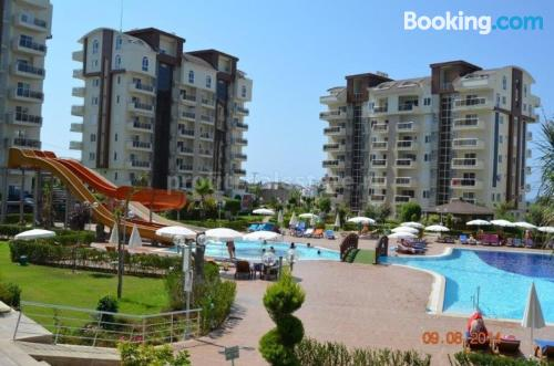 Place in Avsallar. Good choice for six or more!.