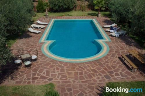 Be cool, there's air-con! With swimming pool and terrace