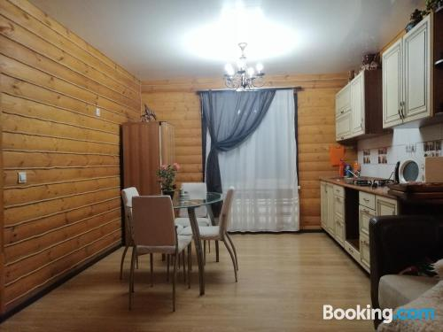 Stay cool: air-con place in Kovrov. Spacious!