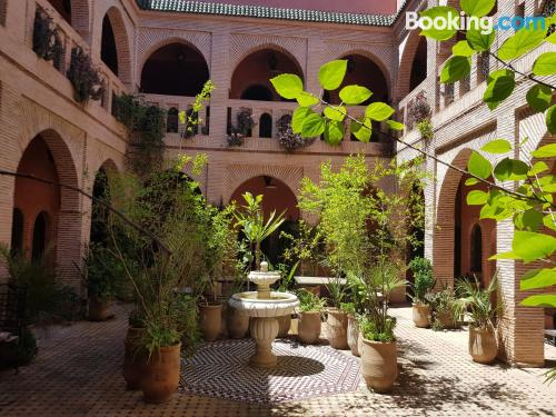 25m2 apartment in Marrakech with terrace and internet