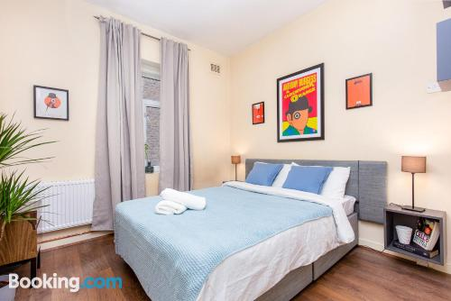 Perfect one bedroom apartment for 2 people.