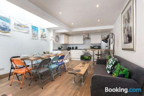 Stay in Brighton & Hove with terrace!.