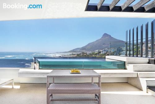 Place for 2 people in Cape Town with terrace