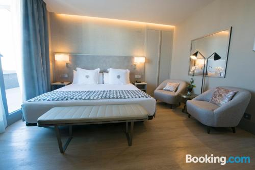 Great location with air-con in Seville for two