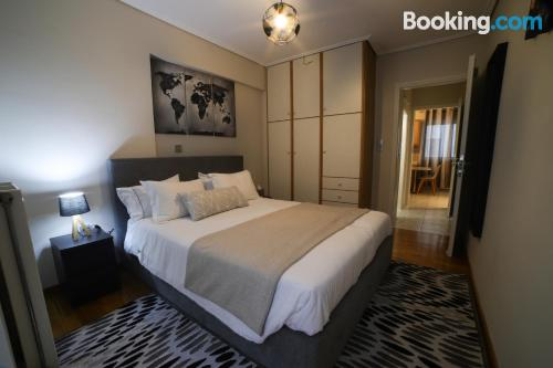 1 bedroom apartment apartment in Athens with internet.