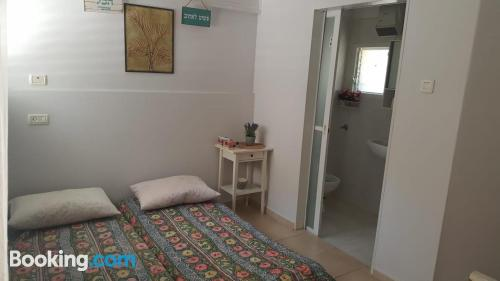 Good choice one bedroom apartment. For two people.