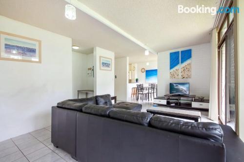 Apartamento para cinco o más en Nelson Bay. ¡Perfecto!