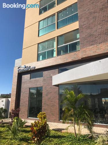Central location in Caldas Novas. Child friendly