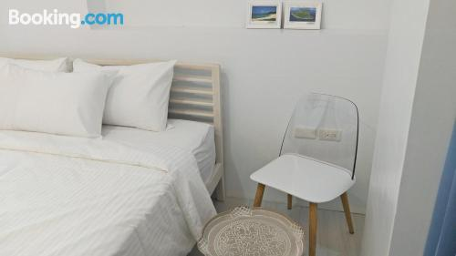 Apartamento práctico con internet y vistas