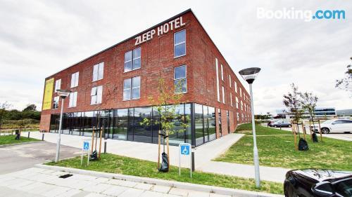 Acogedor apartamento dos personas en Aarhus