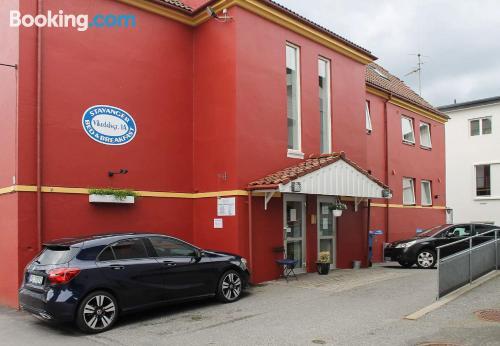 Apartamento para viajeros independientes en Stavanger con conexión a internet