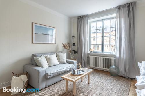 Apartamento de 34m2 en Estocolmo. ¡conexión a internet!.
