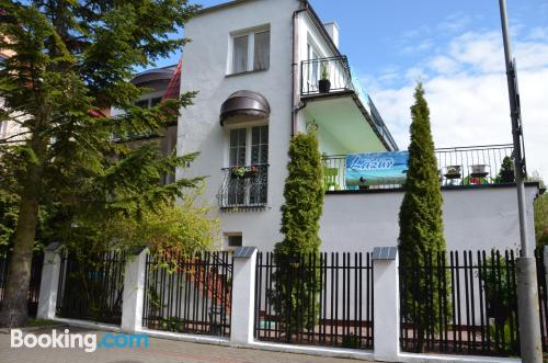 Child friendly apartment in Darlowko.