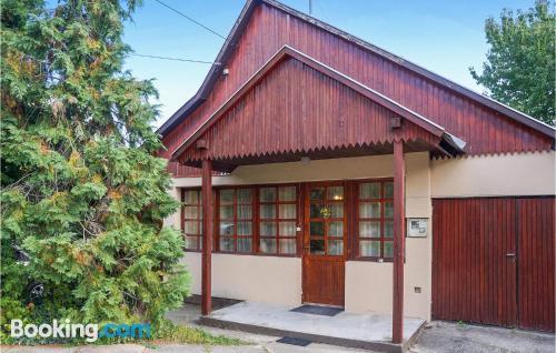 2 rooms place in Balatonszepezdin midtown.