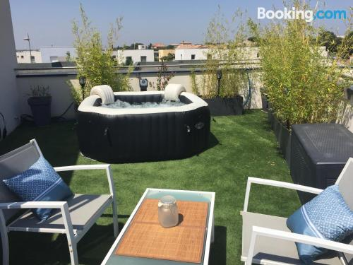 Petite apartment for 2 with terrace!.