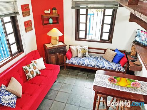 Home in Ubatuba. Perfect for six or more