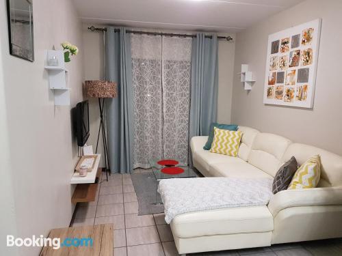 Apartamento ideal con calefacción y wifi.