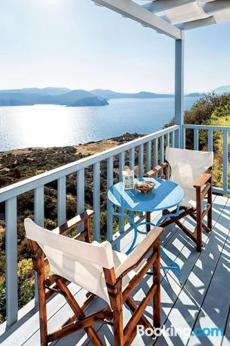 1 bedroom apartment apartment in Plaka Milou. For 2.