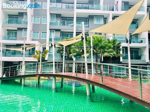 Perfect 1 bedroom apartment. Swimming pool!